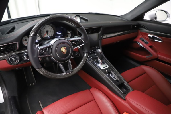 Used 2017 Porsche 911 Turbo S for sale $154,900 at Maserati of Greenwich in Greenwich CT 06830 13