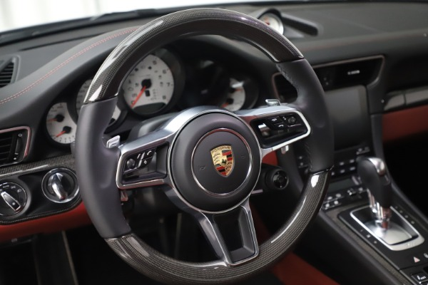 Used 2017 Porsche 911 Turbo S for sale $154,900 at Maserati of Greenwich in Greenwich CT 06830 21