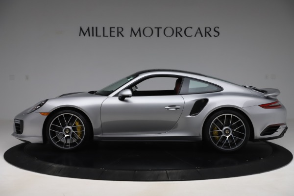 Used 2017 Porsche 911 Turbo S for sale $154,900 at Maserati of Greenwich in Greenwich CT 06830 3