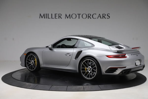 Used 2017 Porsche 911 Turbo S for sale $154,900 at Maserati of Greenwich in Greenwich CT 06830 4