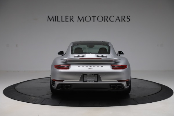 Used 2017 Porsche 911 Turbo S for sale $154,900 at Maserati of Greenwich in Greenwich CT 06830 6