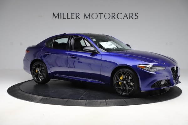New 2020 Alfa Romeo Giulia Ti Q4 for sale $46,145 at Maserati of Greenwich in Greenwich CT 06830 10