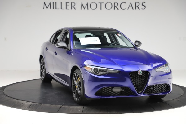 New 2020 Alfa Romeo Giulia Ti Q4 for sale $46,145 at Maserati of Greenwich in Greenwich CT 06830 11