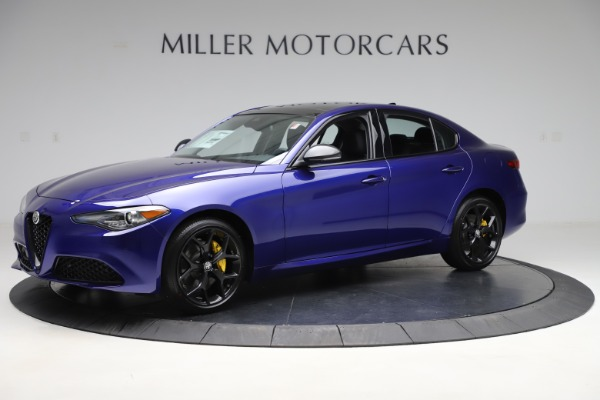 New 2020 Alfa Romeo Giulia Ti Q4 for sale $46,145 at Maserati of Greenwich in Greenwich CT 06830 2
