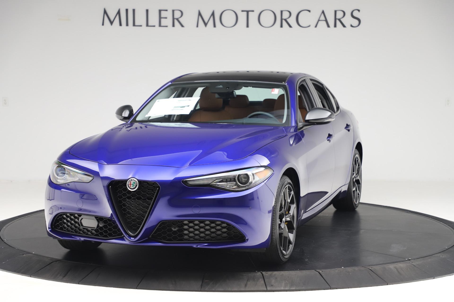 New 2020 Alfa Romeo Giulia Ti Q4 for sale $51,145 at Maserati of Greenwich in Greenwich CT 06830 1