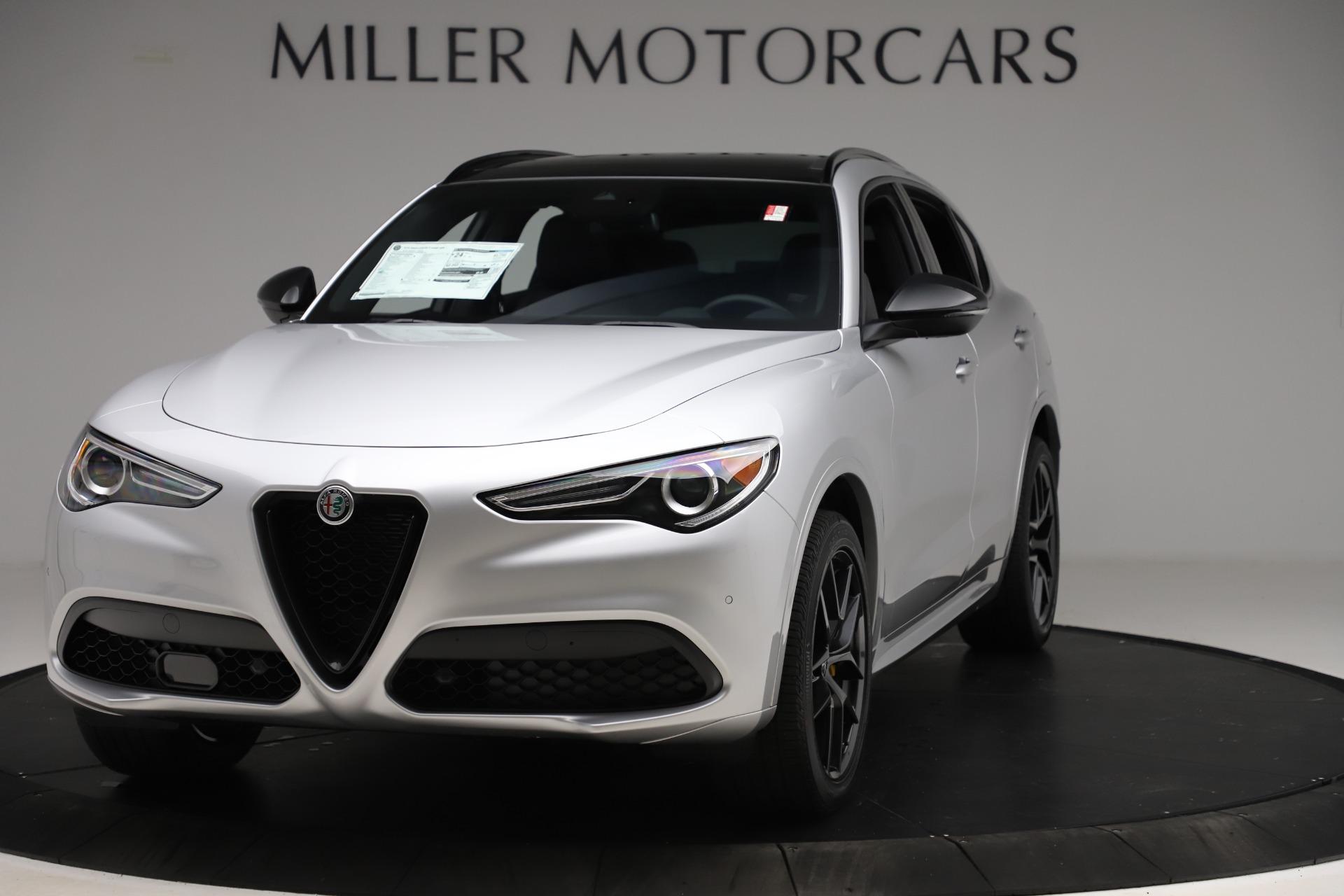 New 2020 Alfa Romeo Stelvio Ti Sport Q4 for sale $55,345 at Maserati of Greenwich in Greenwich CT 06830 1