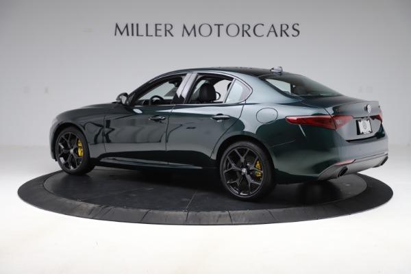 New 2020 Alfa Romeo Giulia Ti Q4 for sale Sold at Maserati of Greenwich in Greenwich CT 06830 4