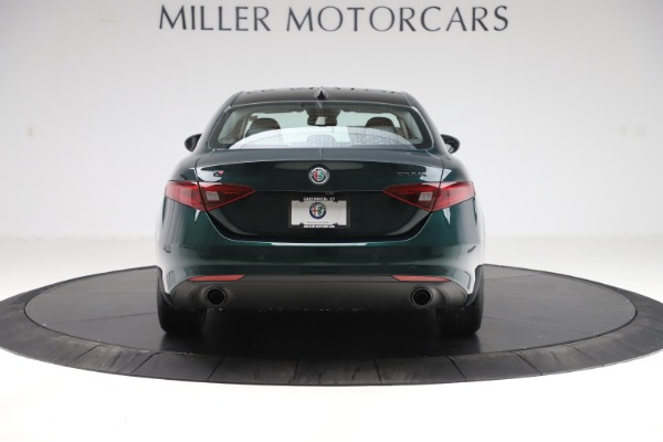 New 2020 Alfa Romeo Giulia Ti Q4 for sale Sold at Maserati of Greenwich in Greenwich CT 06830 6
