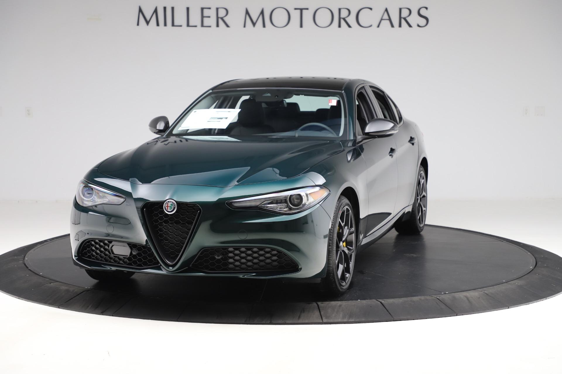New 2020 Alfa Romeo Giulia Ti Q4 for sale Sold at Maserati of Greenwich in Greenwich CT 06830 1