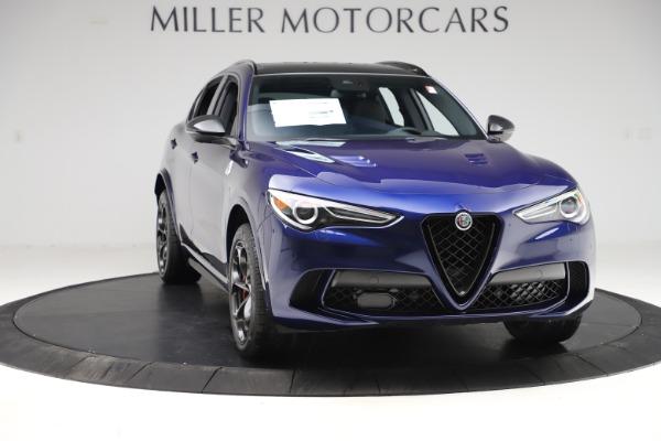 New 2020 Alfa Romeo Stelvio Quadrifoglio for sale $88,390 at Maserati of Greenwich in Greenwich CT 06830 11