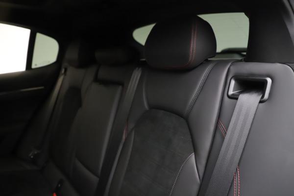 New 2020 Alfa Romeo Stelvio Quadrifoglio for sale $88,390 at Maserati of Greenwich in Greenwich CT 06830 18