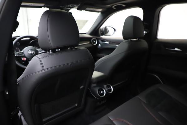 New 2020 Alfa Romeo Stelvio Quadrifoglio for sale $88,390 at Maserati of Greenwich in Greenwich CT 06830 20