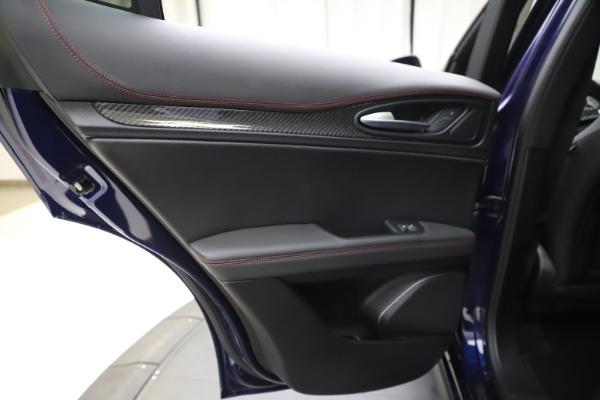 New 2020 Alfa Romeo Stelvio Quadrifoglio for sale $88,390 at Maserati of Greenwich in Greenwich CT 06830 21