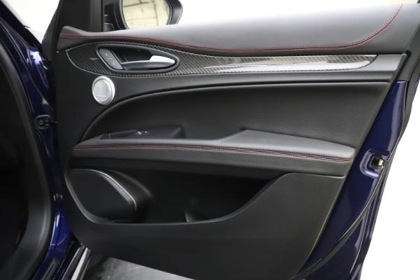 New 2020 Alfa Romeo Stelvio Quadrifoglio for sale $88,390 at Maserati of Greenwich in Greenwich CT 06830 25
