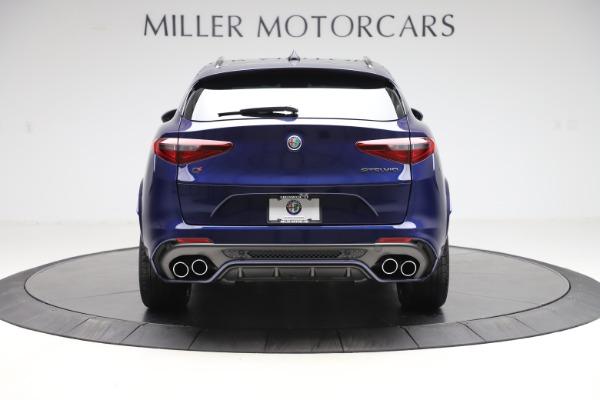 New 2020 Alfa Romeo Stelvio Quadrifoglio for sale $88,390 at Maserati of Greenwich in Greenwich CT 06830 6