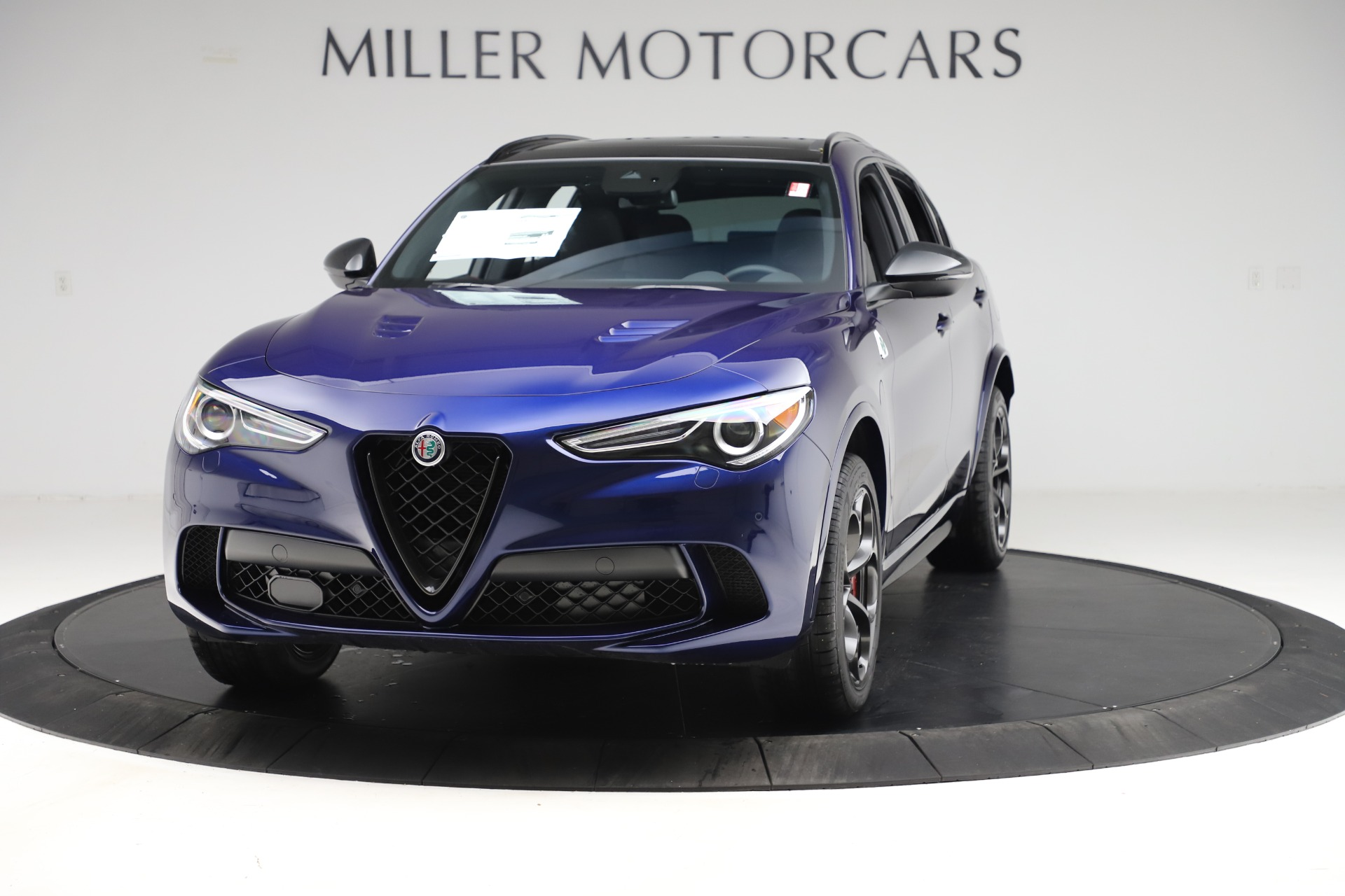 New 2020 Alfa Romeo Stelvio Quadrifoglio for sale $88,390 at Maserati of Greenwich in Greenwich CT 06830 1