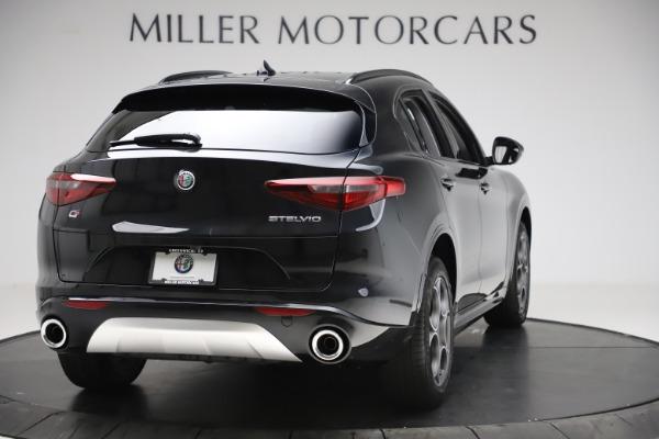New 2020 Alfa Romeo Stelvio Sport Q4 for sale $49,695 at Maserati of Greenwich in Greenwich CT 06830 7