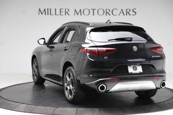New 2020 Alfa Romeo Stelvio Sport Q4 for sale $49,695 at Maserati of Greenwich in Greenwich CT 06830 5