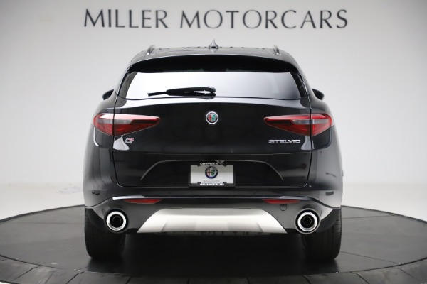 New 2020 Alfa Romeo Stelvio Sport Q4 for sale $49,695 at Maserati of Greenwich in Greenwich CT 06830 6
