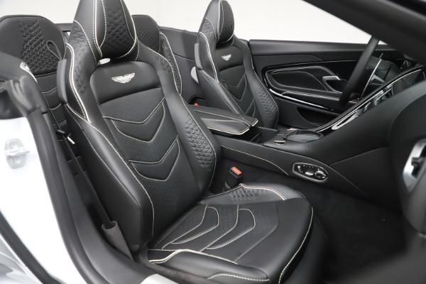 New 2020 Aston Martin DBS Superleggera Volante Convertible for sale $353,931 at Maserati of Greenwich in Greenwich CT 06830 19