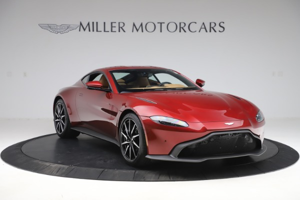New 2020 Aston Martin Vantage Coupe for sale $185,991 at Maserati of Greenwich in Greenwich CT 06830 11