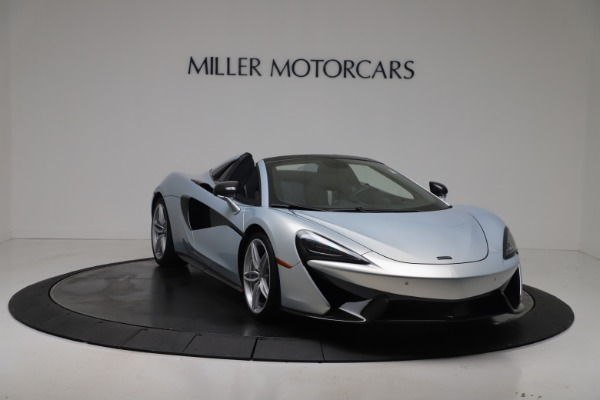 New 2020 McLaren 570S Spider Convertible for sale $256,990 at Maserati of Greenwich in Greenwich CT 06830 10