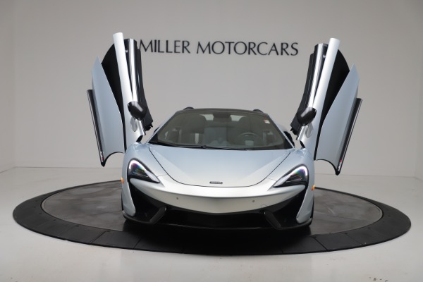 New 2020 McLaren 570S Spider Convertible for sale $256,990 at Maserati of Greenwich in Greenwich CT 06830 12
