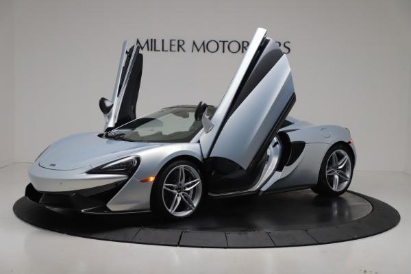 New 2020 McLaren 570S Spider Convertible for sale $256,990 at Maserati of Greenwich in Greenwich CT 06830 13