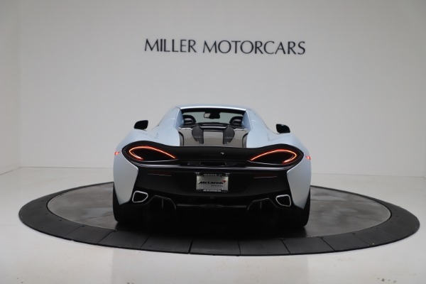 New 2020 McLaren 570S Spider Convertible for sale $256,990 at Maserati of Greenwich in Greenwich CT 06830 18