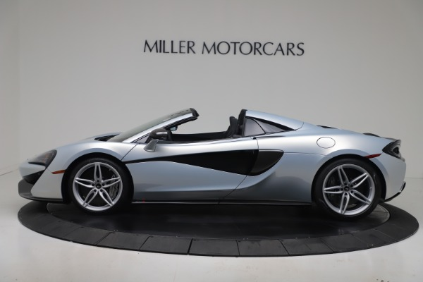 New 2020 McLaren 570S Spider Convertible for sale $256,990 at Maserati of Greenwich in Greenwich CT 06830 2