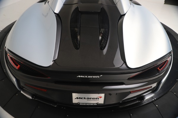 New 2020 McLaren 570S Spider Convertible for sale $256,990 at Maserati of Greenwich in Greenwich CT 06830 23