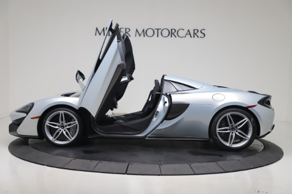 New 2020 McLaren 570S Spider Convertible for sale $256,990 at Maserati of Greenwich in Greenwich CT 06830 25