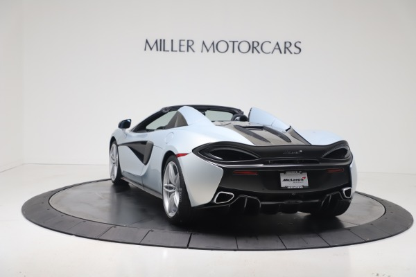 New 2020 McLaren 570S Spider Convertible for sale $256,990 at Maserati of Greenwich in Greenwich CT 06830 4