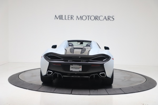 New 2020 McLaren 570S Spider Convertible for sale $256,990 at Maserati of Greenwich in Greenwich CT 06830 5