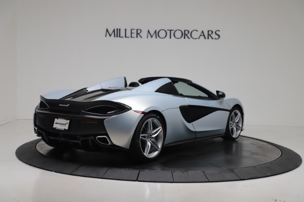 New 2020 McLaren 570S Spider Convertible for sale $256,990 at Maserati of Greenwich in Greenwich CT 06830 6