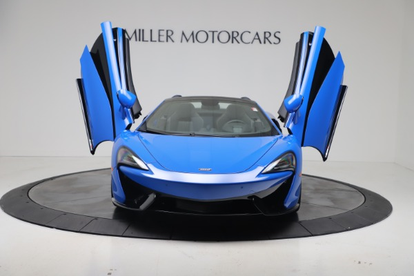 New 2020 McLaren 570S Spider Convertible for sale $236,270 at Maserati of Greenwich in Greenwich CT 06830 12