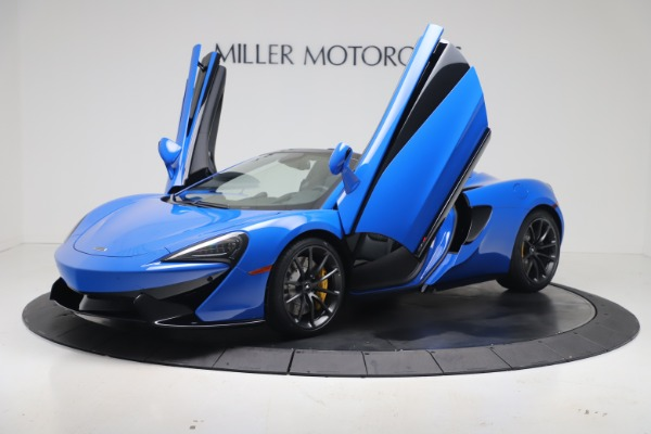 New 2020 McLaren 570S Spider Convertible for sale $236,270 at Maserati of Greenwich in Greenwich CT 06830 13