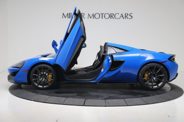 New 2020 McLaren 570S Spider Convertible for sale $236,270 at Maserati of Greenwich in Greenwich CT 06830 14
