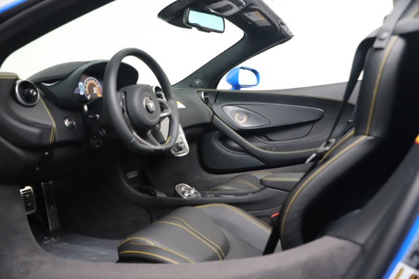 New 2020 McLaren 570S Spider Convertible for sale $236,270 at Maserati of Greenwich in Greenwich CT 06830 23