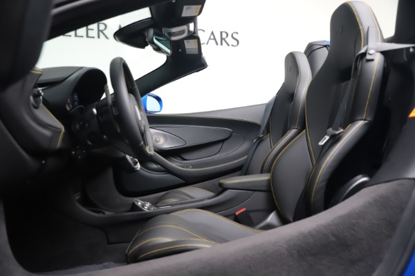 New 2020 McLaren 570S Spider Convertible for sale $236,270 at Maserati of Greenwich in Greenwich CT 06830 24