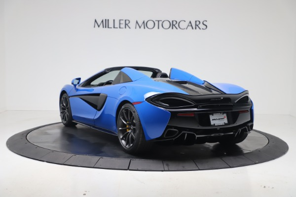 New 2020 McLaren 570S Spider Convertible for sale $236,270 at Maserati of Greenwich in Greenwich CT 06830 4