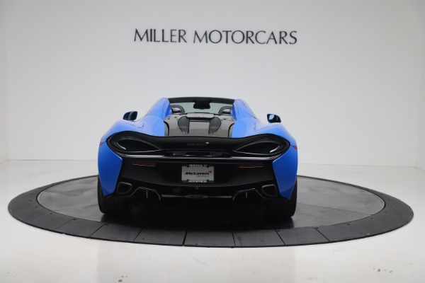 New 2020 McLaren 570S Spider Convertible for sale $236,270 at Maserati of Greenwich in Greenwich CT 06830 5