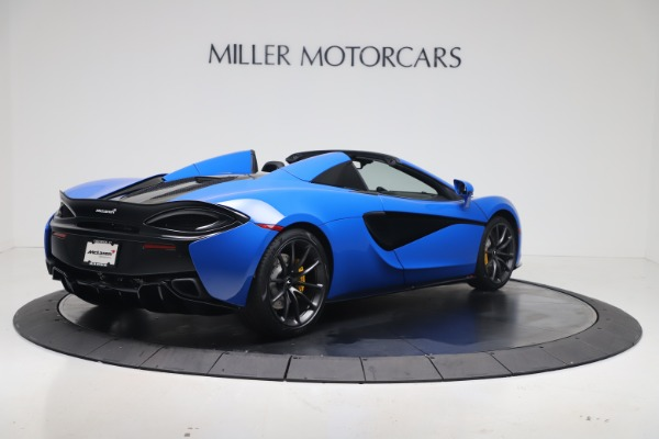 New 2020 McLaren 570S Spider Convertible for sale $236,270 at Maserati of Greenwich in Greenwich CT 06830 6