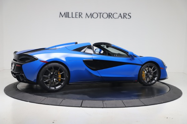 New 2020 McLaren 570S Spider Convertible for sale $236,270 at Maserati of Greenwich in Greenwich CT 06830 7