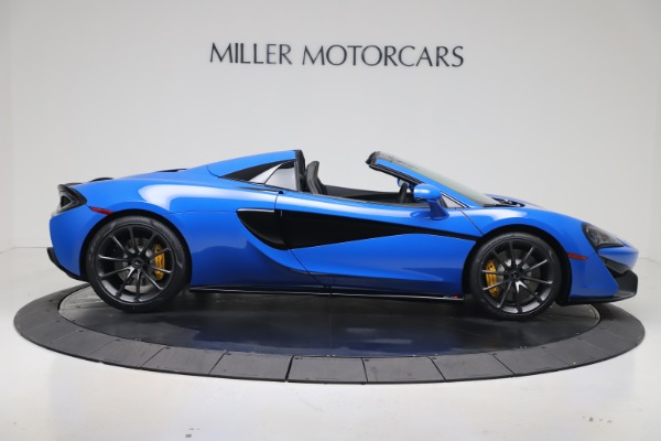 New 2020 McLaren 570S Spider Convertible for sale $236,270 at Maserati of Greenwich in Greenwich CT 06830 8