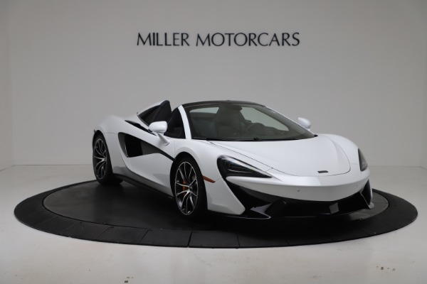 New 2020 McLaren 570S Spider Convertible for sale $231,150 at Maserati of Greenwich in Greenwich CT 06830 10