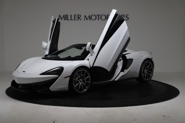 New 2020 McLaren 570S Spider Convertible for sale $231,150 at Maserati of Greenwich in Greenwich CT 06830 13
