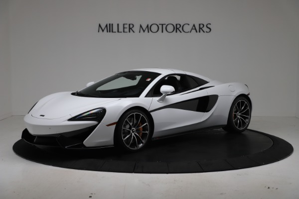 New 2020 McLaren 570S Spider Convertible for sale $231,150 at Maserati of Greenwich in Greenwich CT 06830 14