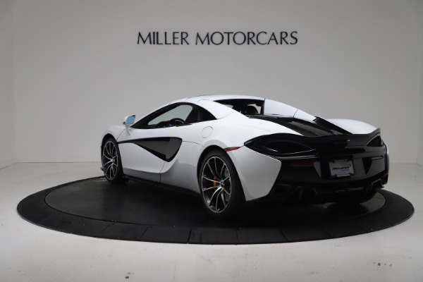 New 2020 McLaren 570S Spider Convertible for sale $231,150 at Maserati of Greenwich in Greenwich CT 06830 16