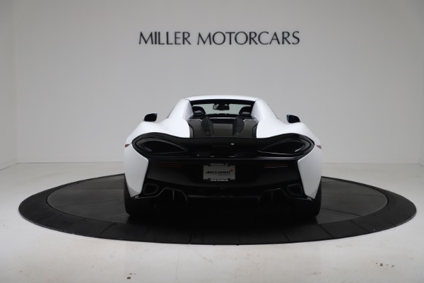 New 2020 McLaren 570S Spider Convertible for sale $231,150 at Maserati of Greenwich in Greenwich CT 06830 17